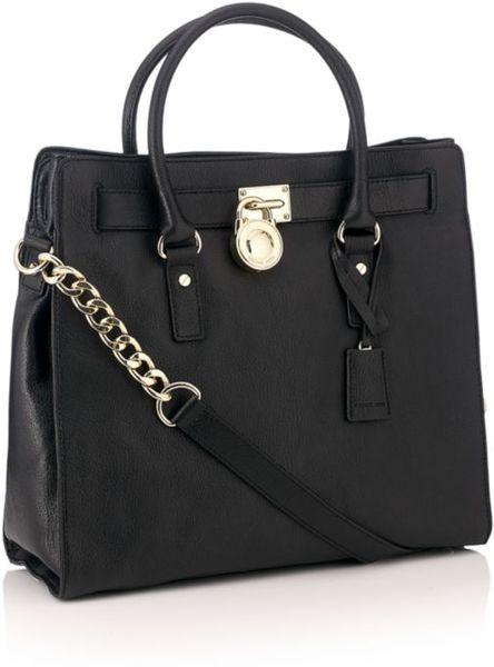 Sale Michael Kors Hamilton Totes - Bags Michael By Michael Kors Hamilton Large Tote Bag Black
