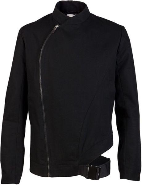 Adidas Slvr Fencing Jacket In Black For Men Lyst