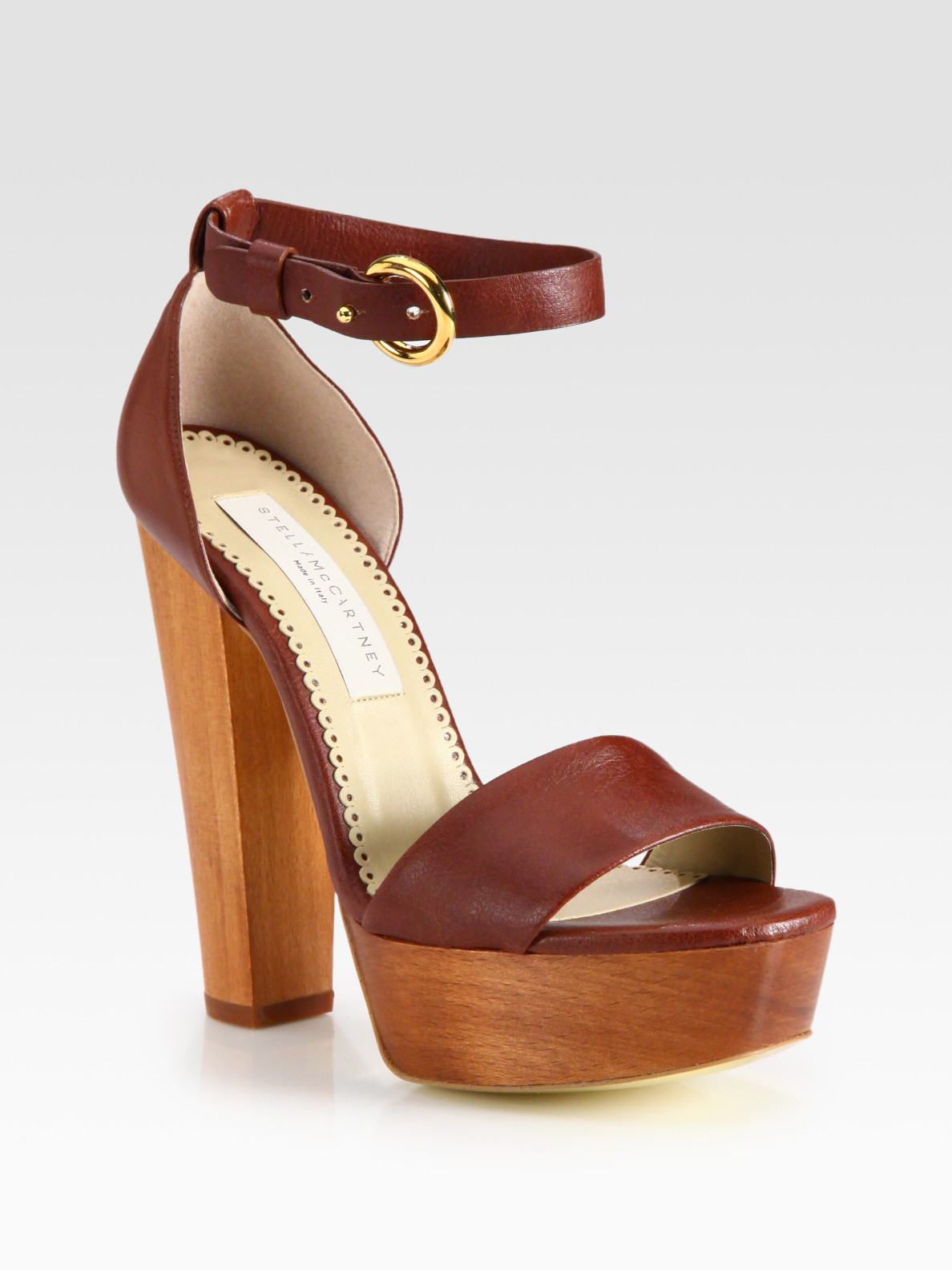 Stella McCartney Faux Leather and
