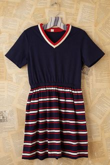 Free People Vintage Patriotic Stripe Dress - Lyst