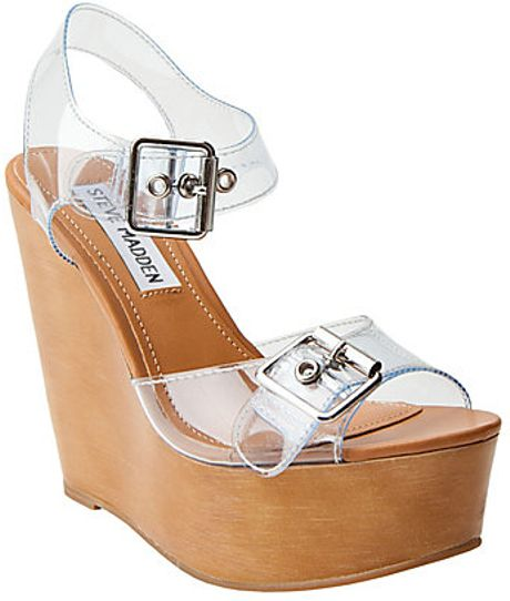 Steve Madden Wizarrd In Transparent Clear Lyst