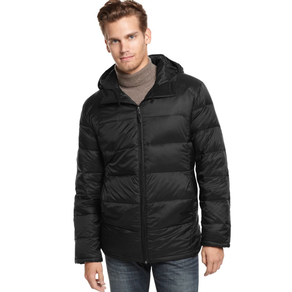 Lyst Calvin Klein Packable Featherweight Down Hooded
