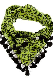 Mw Matthew Williamson Tassel Scarf - Lyst