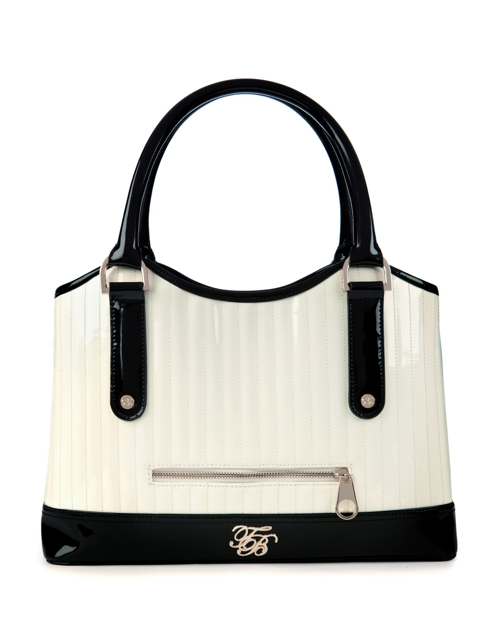 Ted Baker Volkan Quilted Bowler Bag In Black Red Lyst