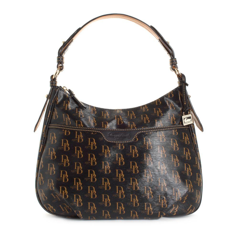 Dooney Bourke 1975 Signature Hobo Bag