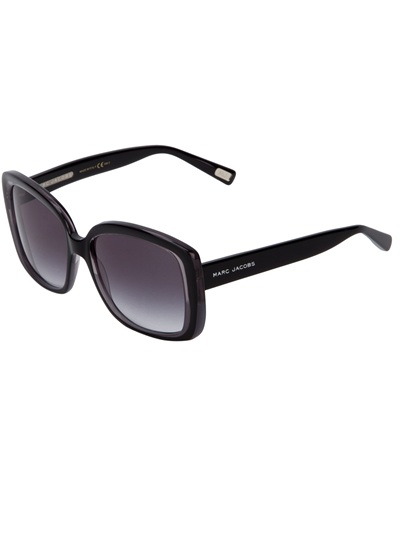 Marc By Marc Jacobs Round Frame Glasses : Marc Jacobs Round Frame Sunglasses in Black Lyst