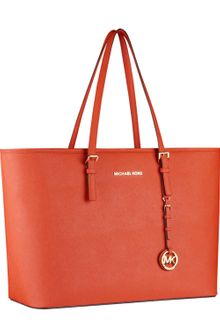 Michael Kors Jet Set Macbook Travel Tote - Lyst