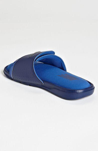 Nike Comfort Slide 2 Slide In Blue For Men Blue Grey Lyst