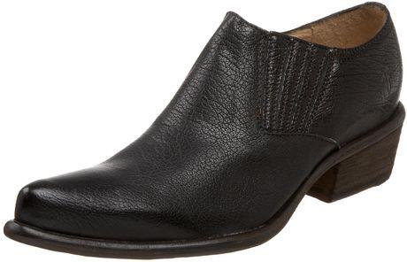 Frye Frye Womens Hutch Ankle Boot in Black