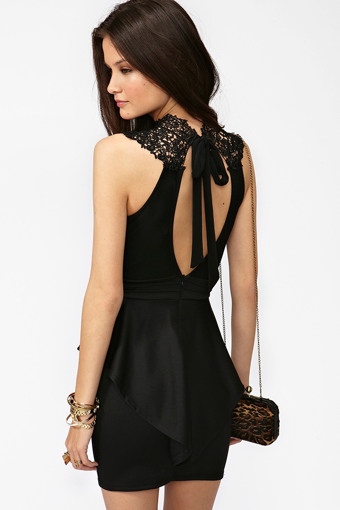 Ages guess black bodycon dress for curves