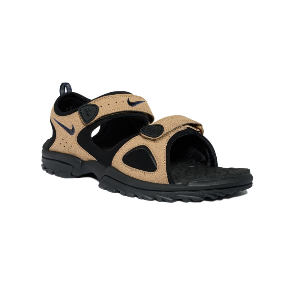 2dc9c8b77 ... discount lyst nike santiam ii sport sandal in brown for men 967bb f4542