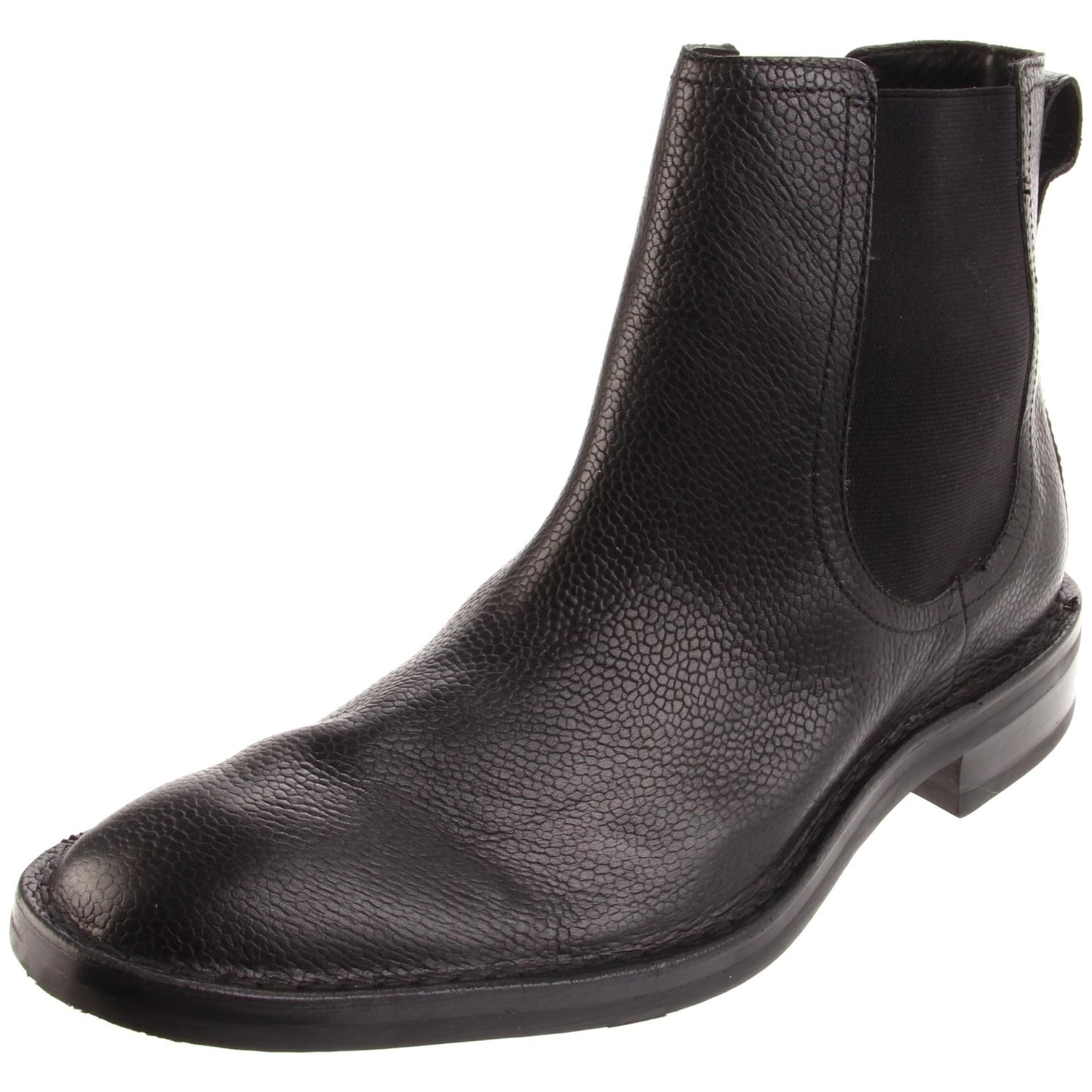 cole haan air canton chelsea boot in black for black