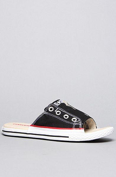 Converse Cut Away Sandal In Black In Black Lyst