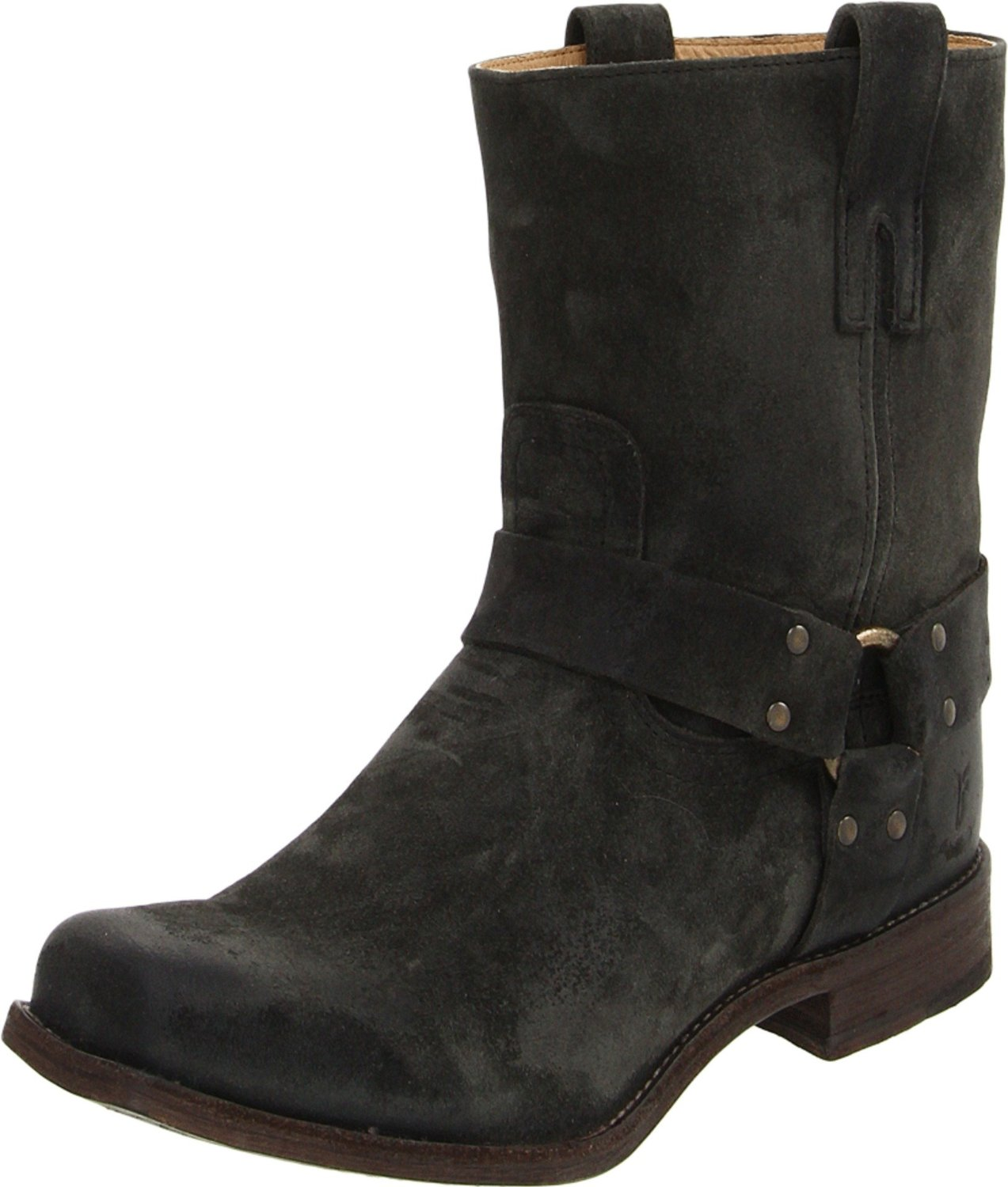 frye frye mens smith harness boot in black for