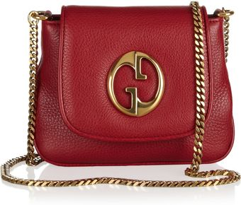Gucci Leather Shoulder Bag - Lyst