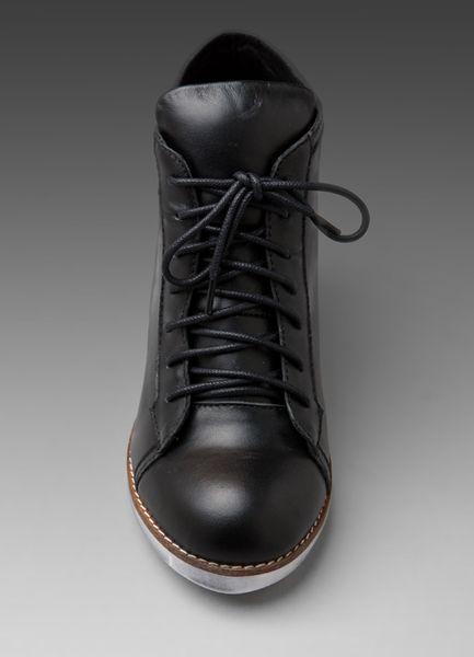 Jeffrey Campbell Edea Spiked Sneaker in Black - Lyst