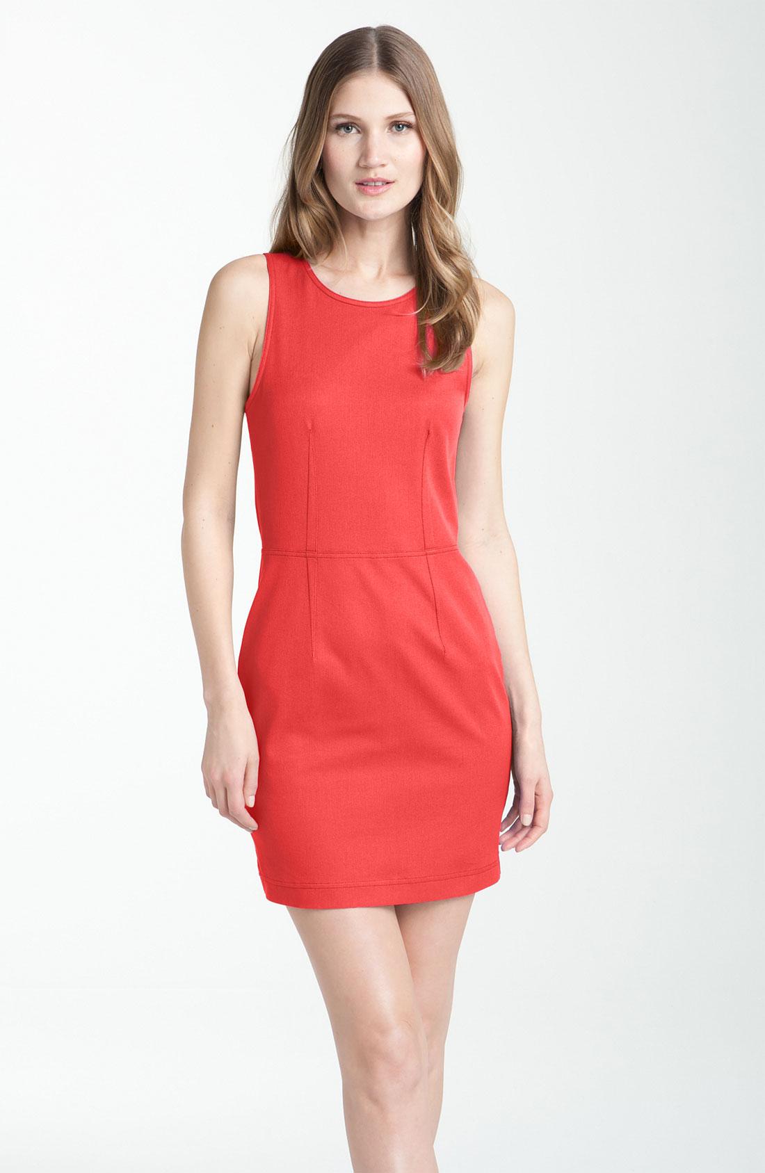 Theory Diamita Dress in Pink | Lyst