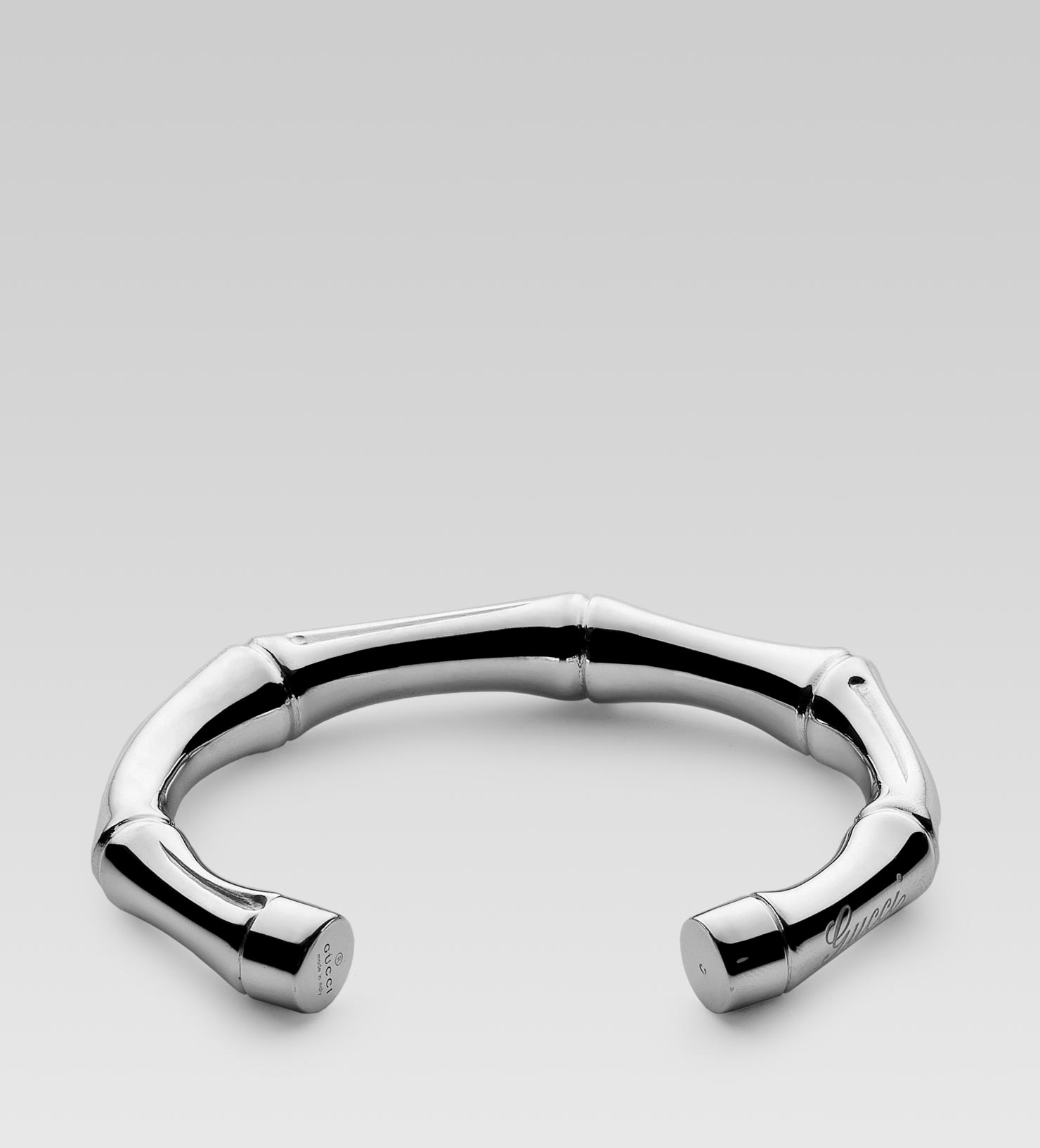 Gucci Silver Bamboo Bracelet In Metallic For Men Lyst