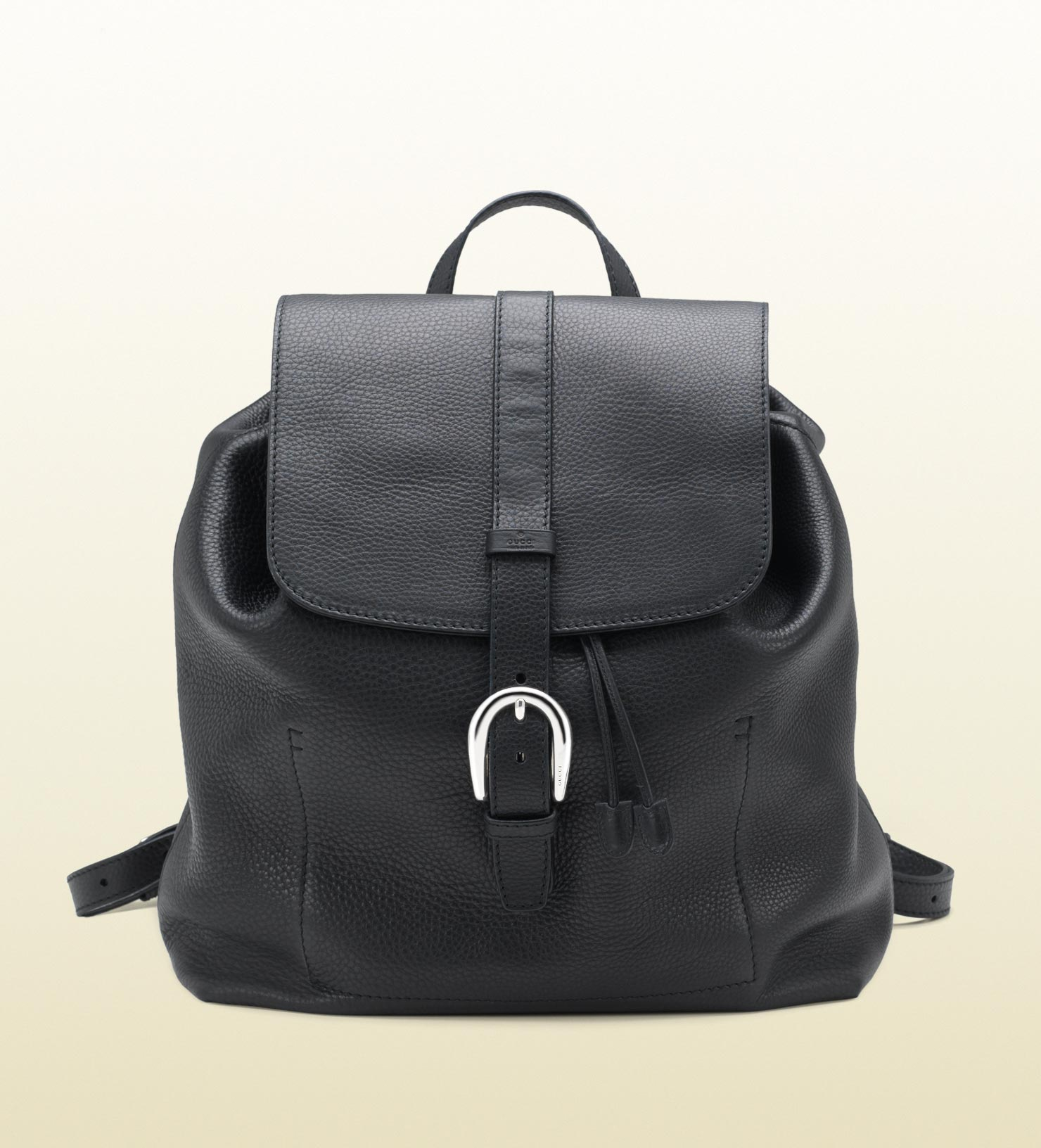 Lyst - Gucci Backpack with Flap Closure in Black for Men 66a89ef5fce20