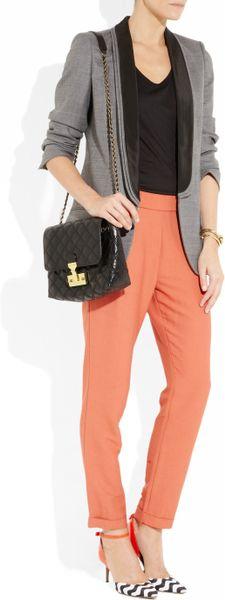 Baroque Xl Single' Leather Shoulder Bag 18