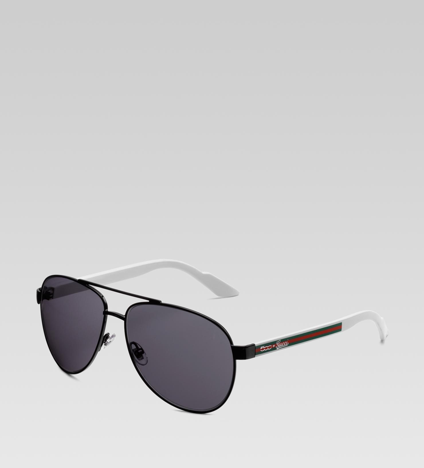 952e3362019 Lyst - Gucci Small Aviator Sunglasses with 500 By Gucci Script ...