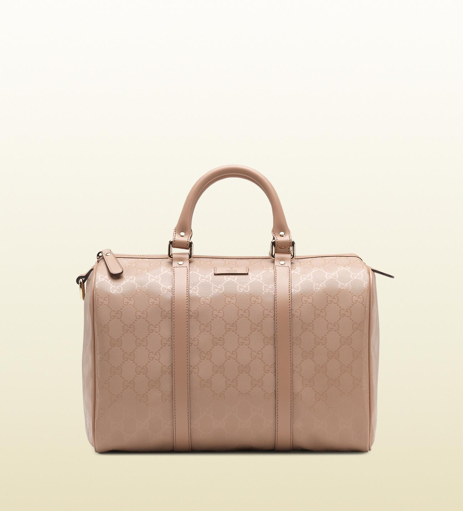 f5ee62e8ab31 Gucci Joy Leather Boston Bag in Pink - Lyst