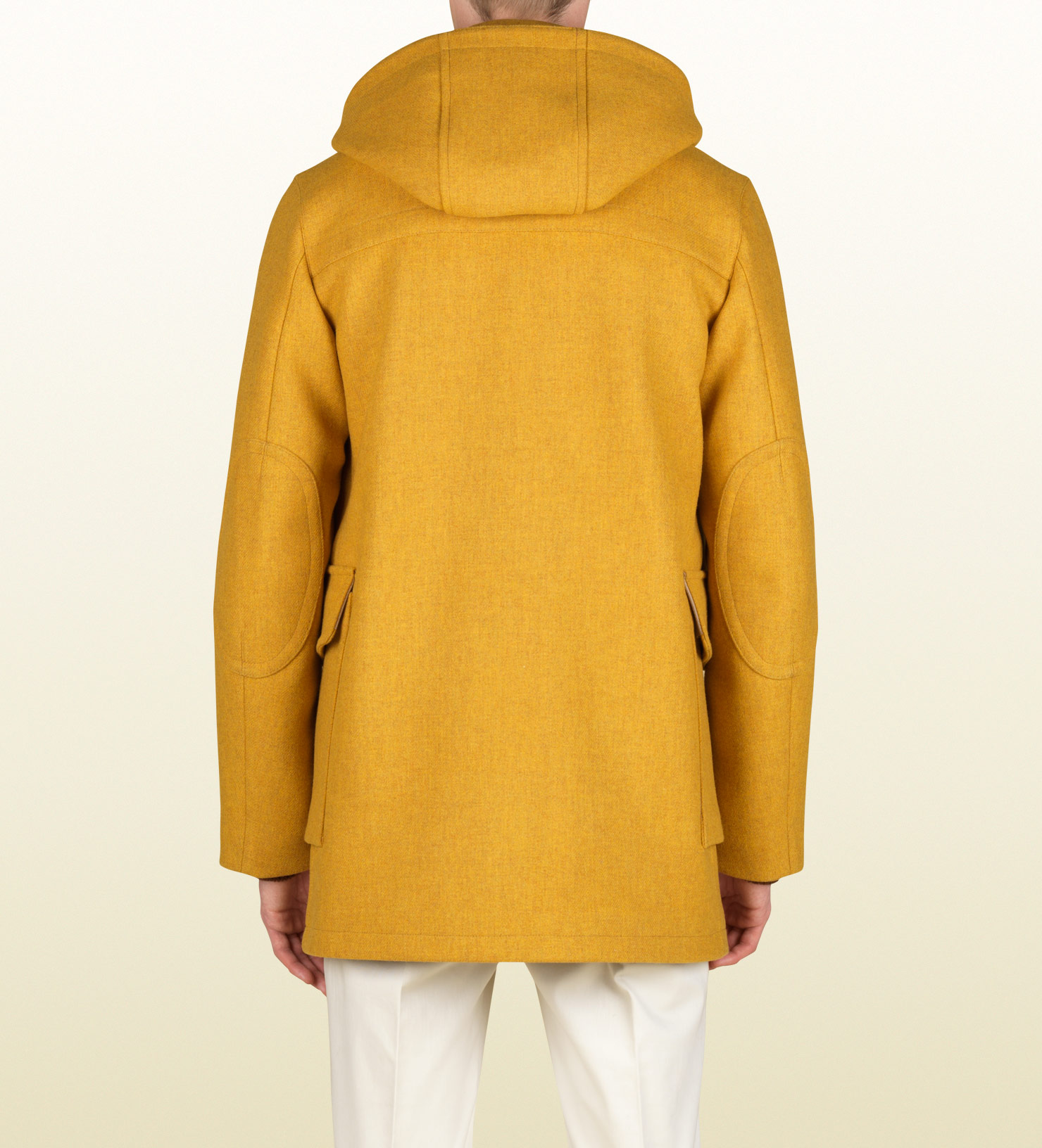 Lyst Gucci Montgomery Jacket With Detachable Hood In