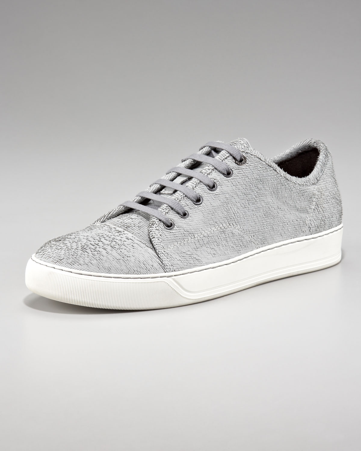 Lanvin In Lyst Gray Cut Sneaker For Men Laser 2IbWDeEH9Y