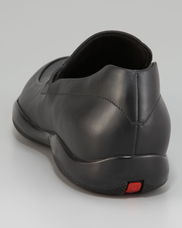 4ae8b6562b4f8 Lyst - Prada Toggle Loafer in Black for Men