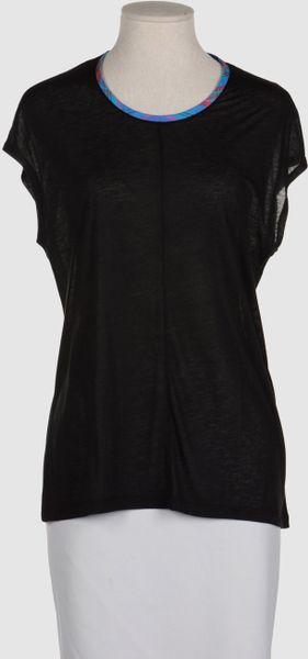 Balenciaga Sleeveless Tshirt In Black Red Lyst