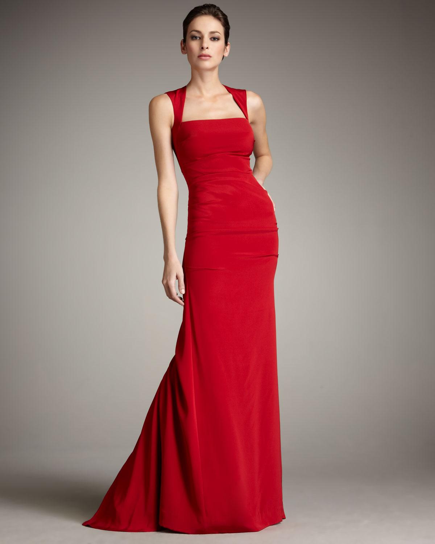 Red Nicole Miller Dress Weddings Dresses
