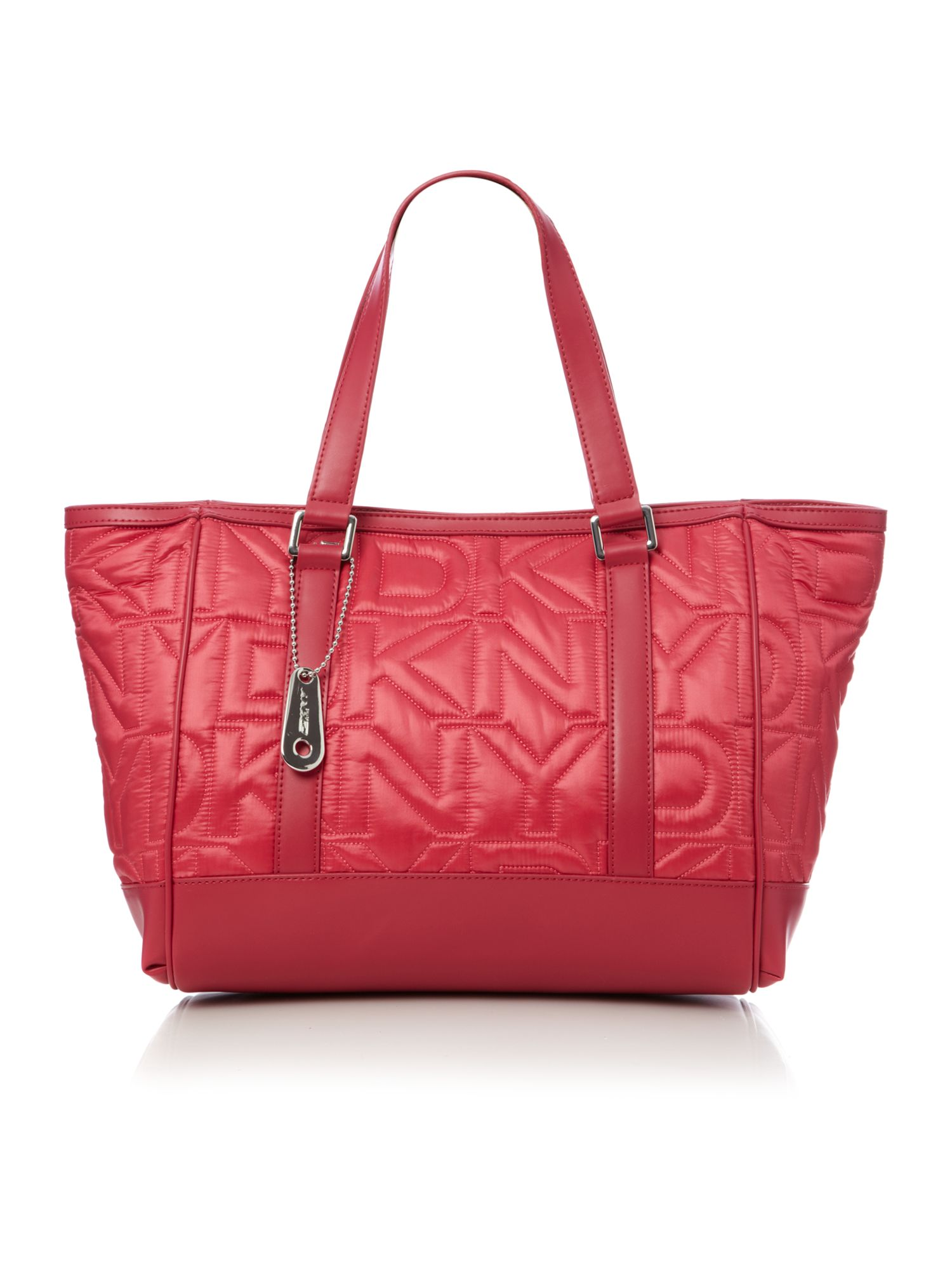 Quilted Nylon Tote 11