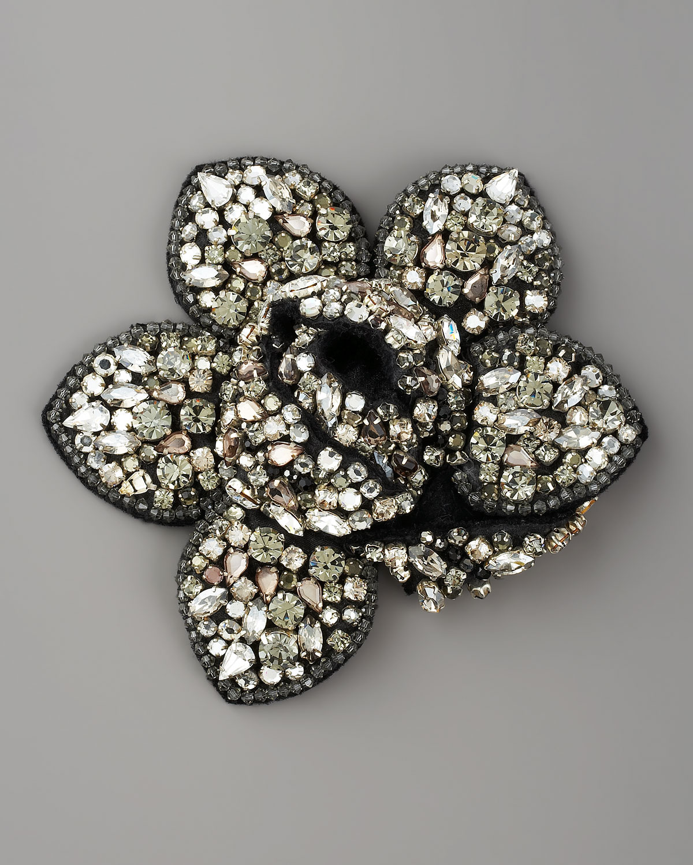 embellished clover brooch - Metallic Lanvin aKWKzL43x