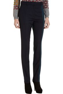 Pringle of Scotland Two Tone Straight Leg Pants - Lyst