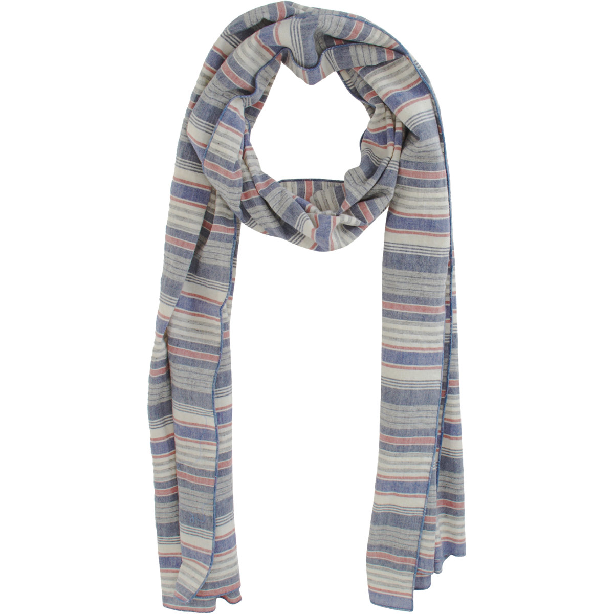rag bone collection scarf in blue for lyst