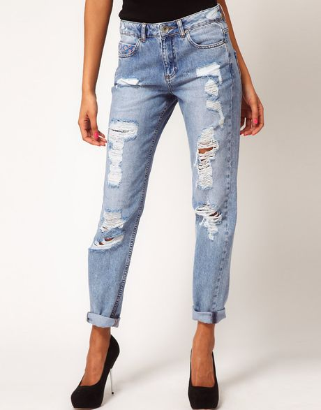 Asos Jean with Rocco Stitch in Blue