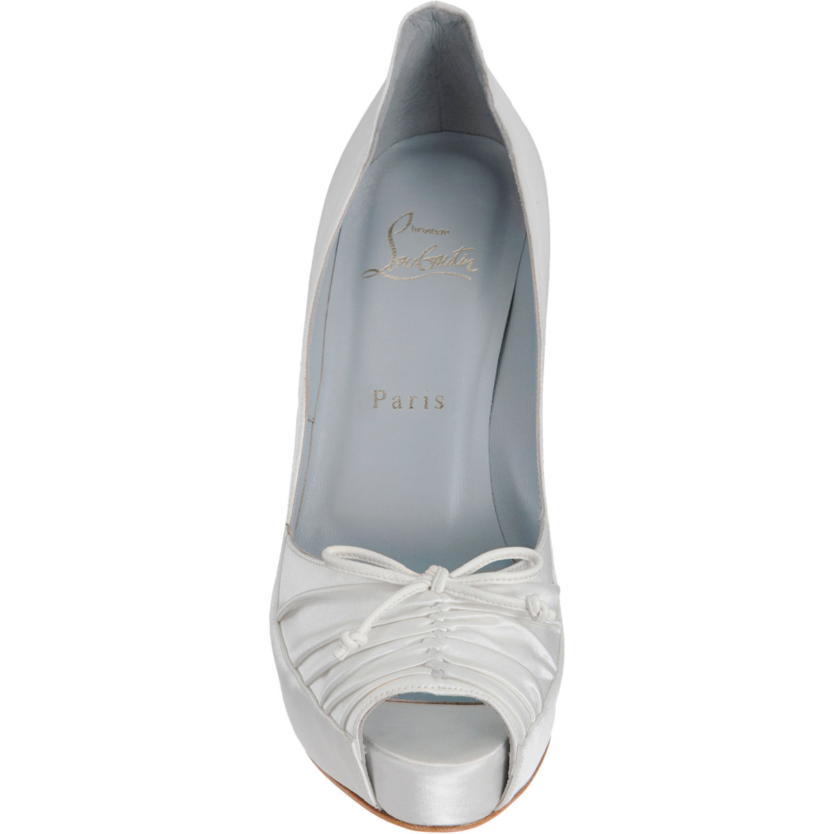 christian louboutin imitation shoes - Christian louboutin Very Pli in White | Lyst