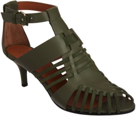 Givenchy Gladiator Sandal in Green