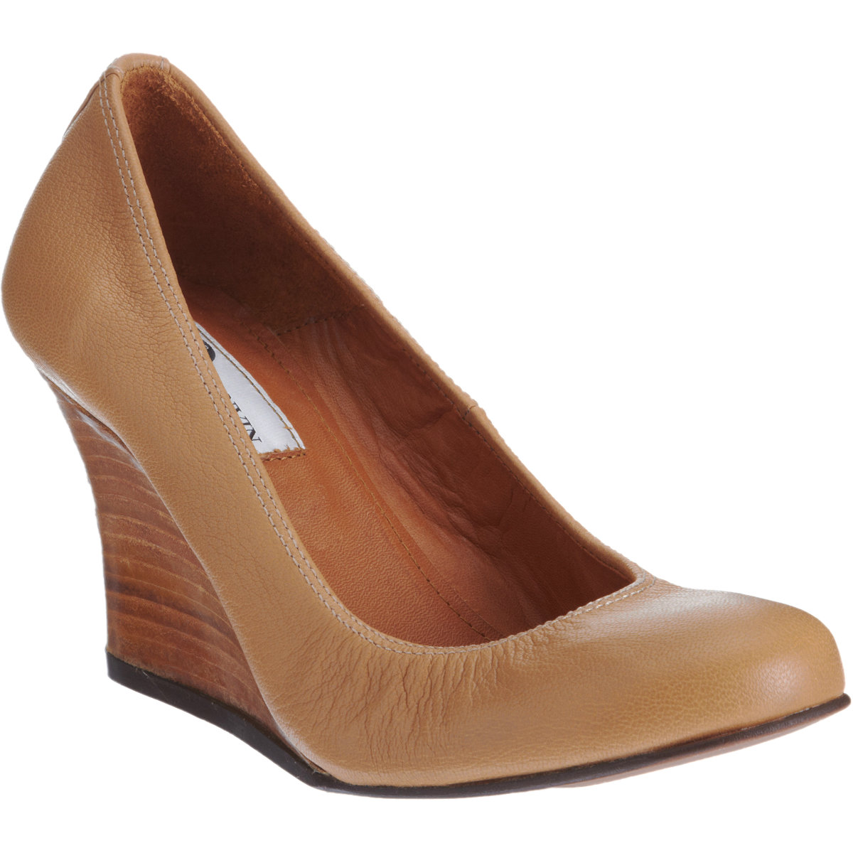 Brown Womens Wedge Shoes