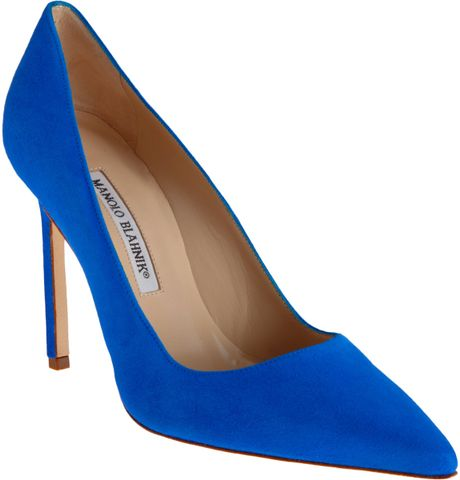 Manolo Blahnik Bb in Blue