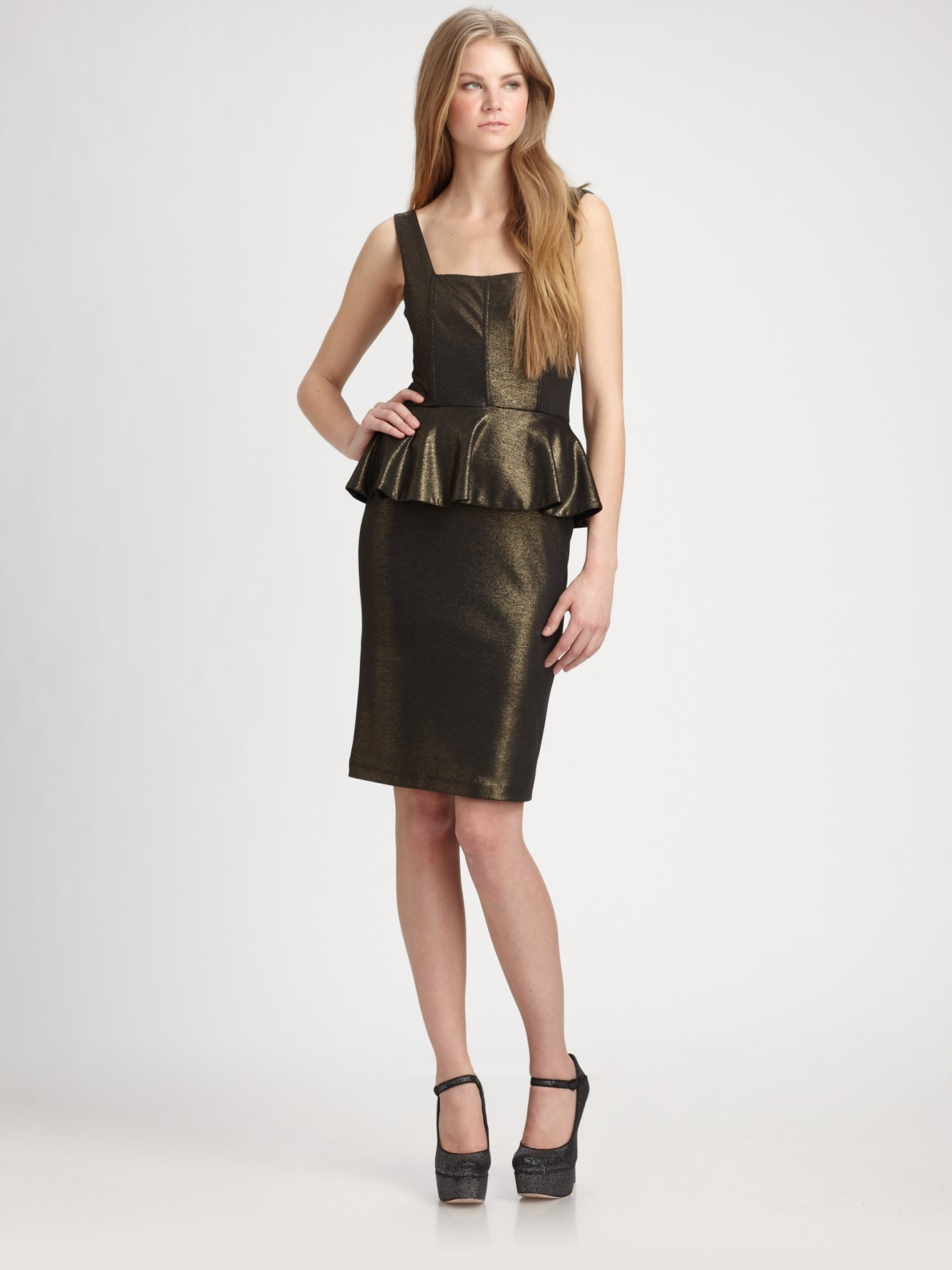 Can't find Peplum Dress in your size? Let us know your details we'll notify you when it's back in stock. Colour: Marl Grey. Please correct all required fields. Receive back in stock reminder, alerts and birthday gift. Also receive subscriber-exclusive sales, first dibs on new brands and trends.