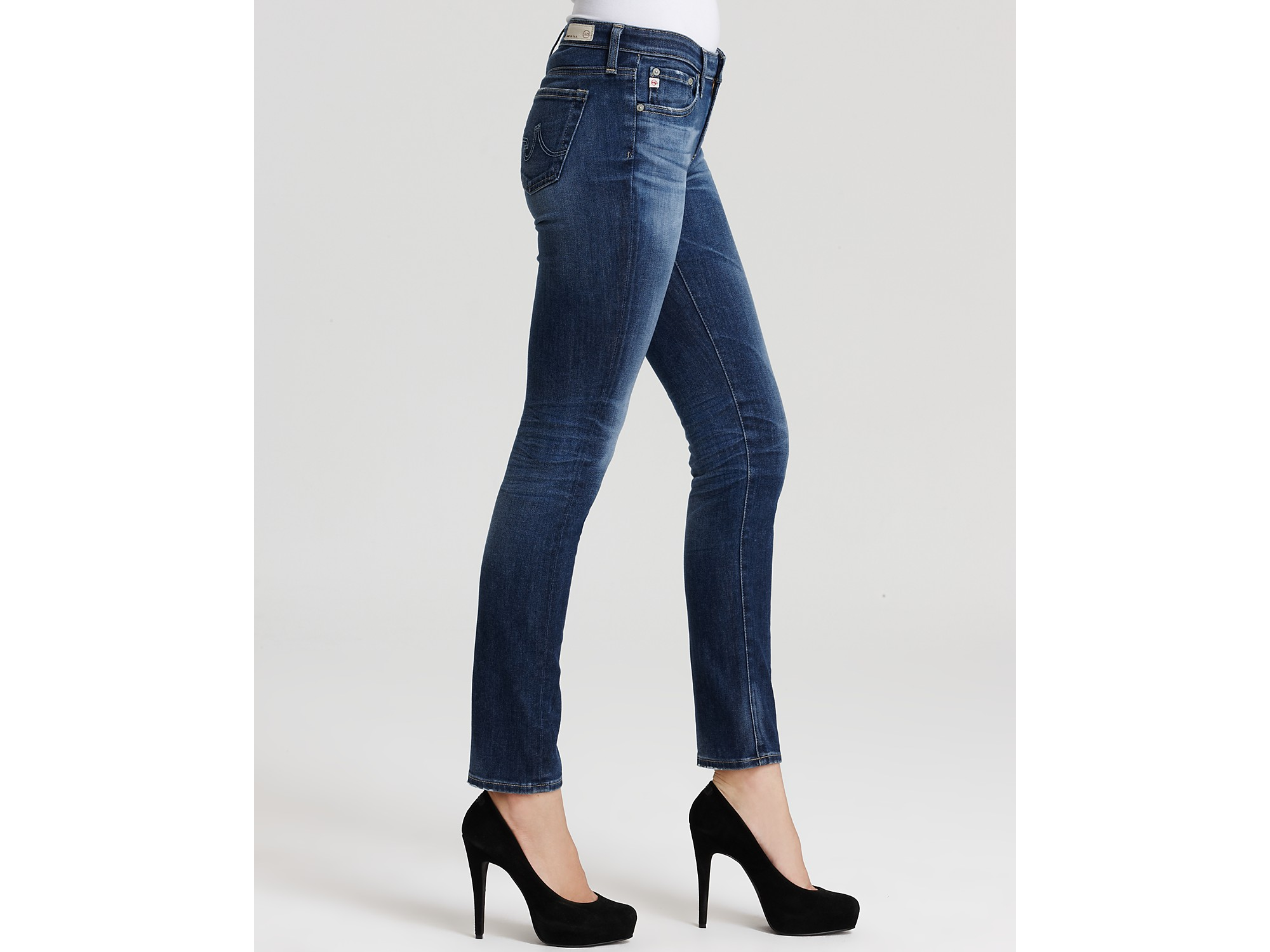 Mid-rise cropped jeans AG - Adriano Goldschmied jD4OlDef8N