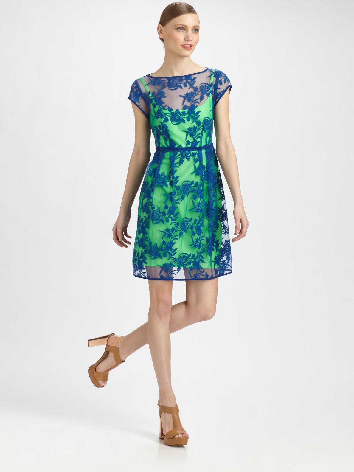 Nanette Lepore Blue Dress - KD Dress