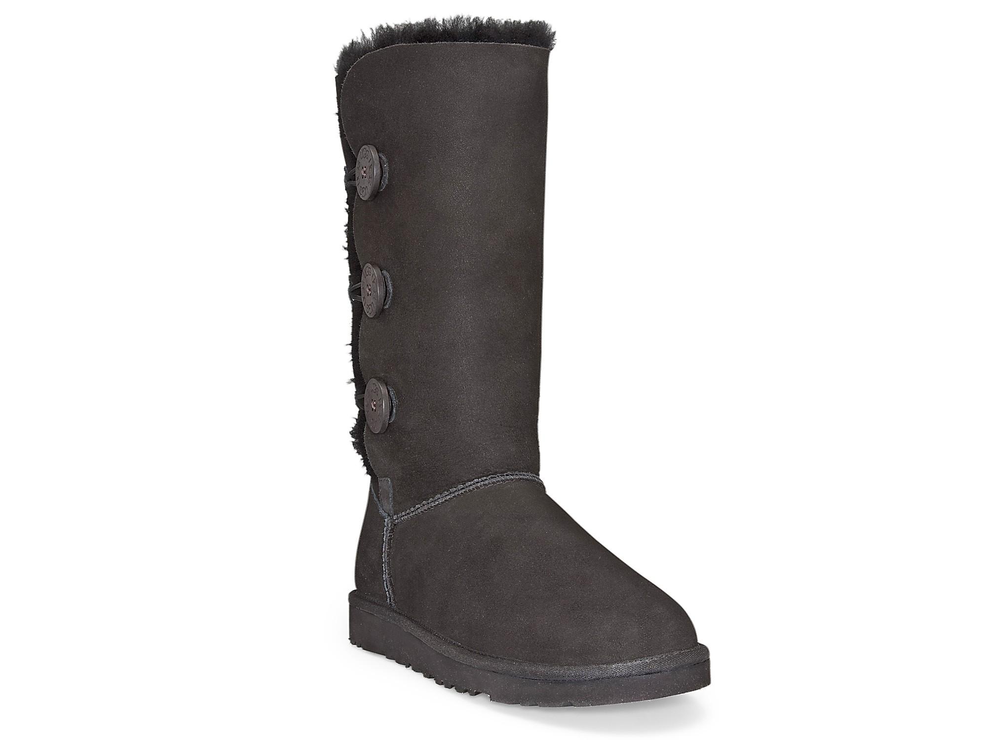 bailey ugg boots black