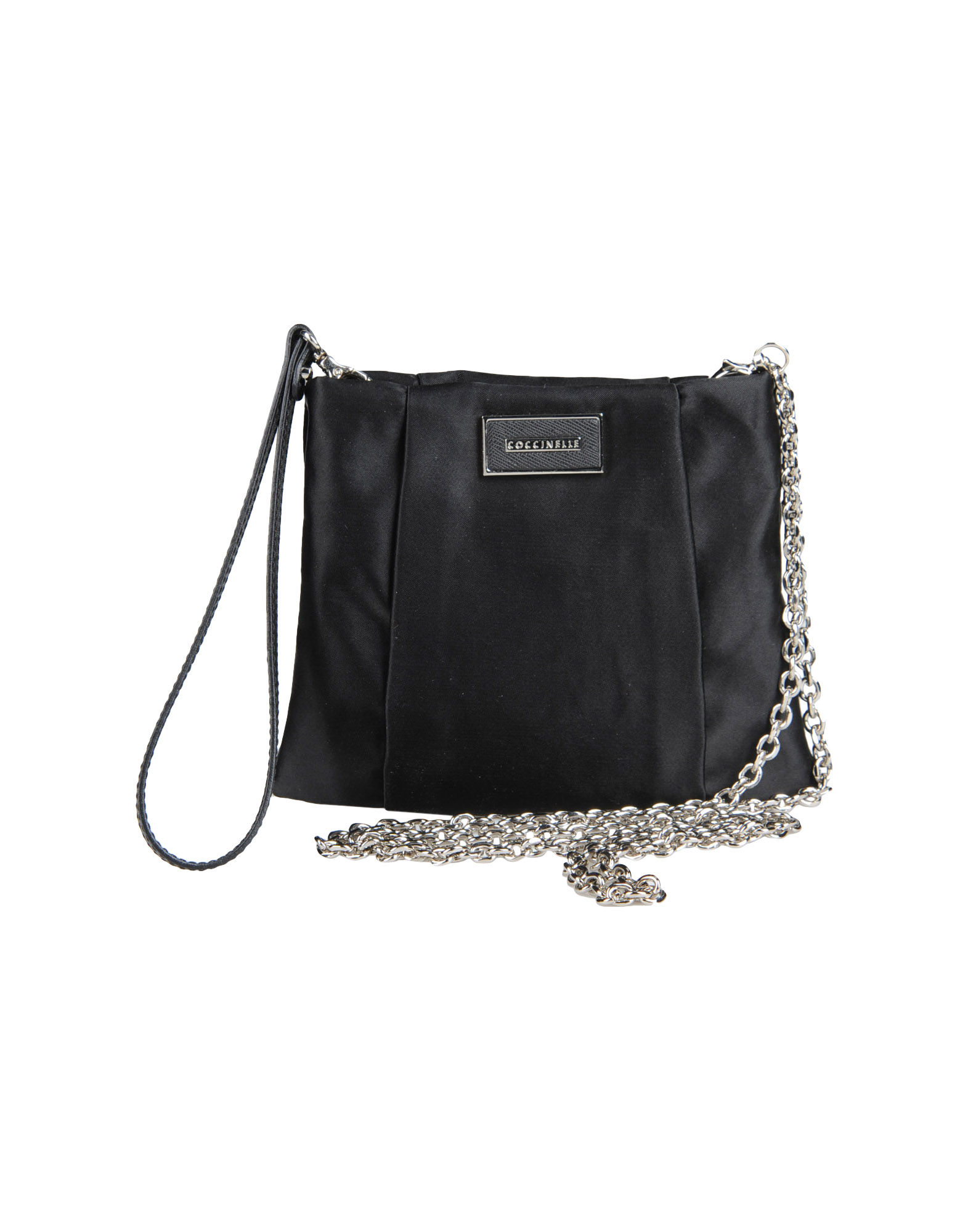 Coccinelle Small Fabric Bag in Black | Lyst