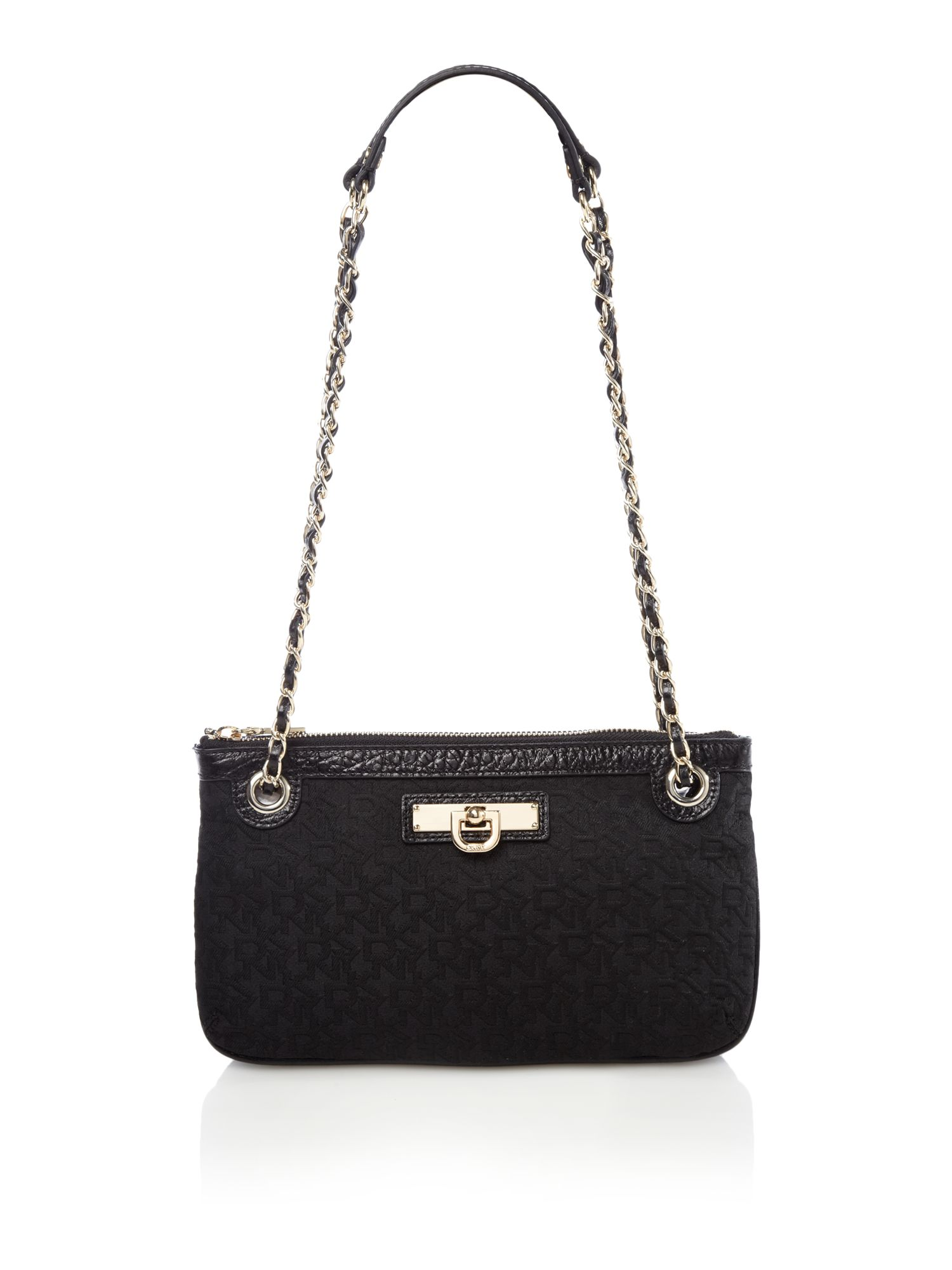 dkny item crossbody bag in black lyst