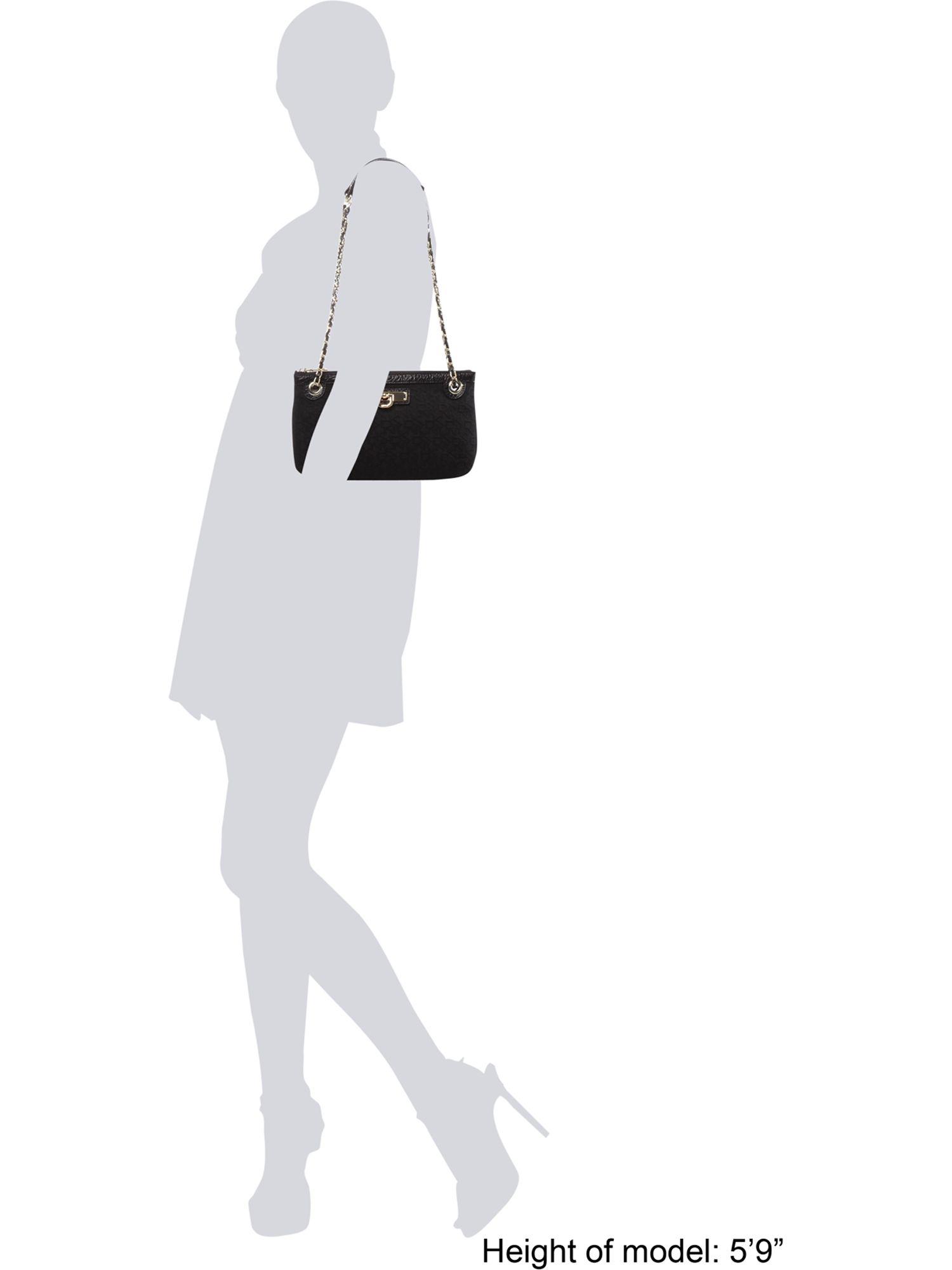 DKNY Item Crossbody Bag in Black