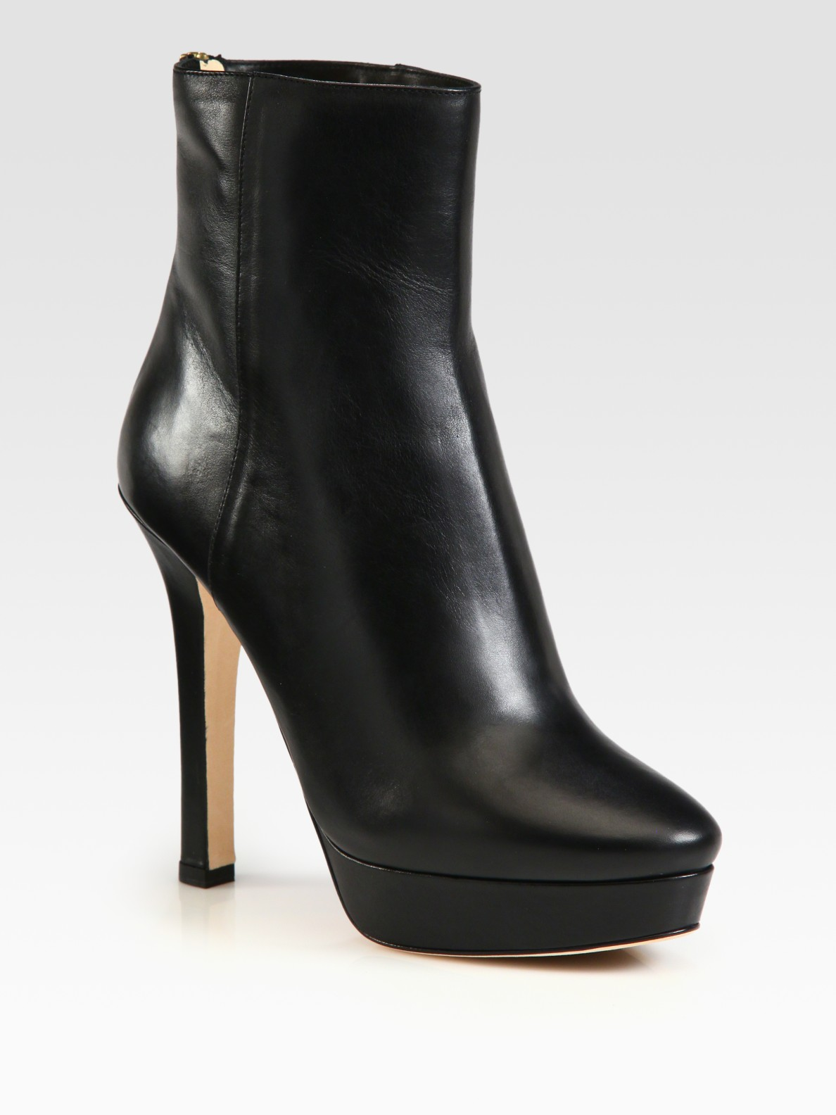 fa3589b1e5a5 ... discount code for lyst jimmy choo magic leather platform ankle boots in  black e6474 f9fb6