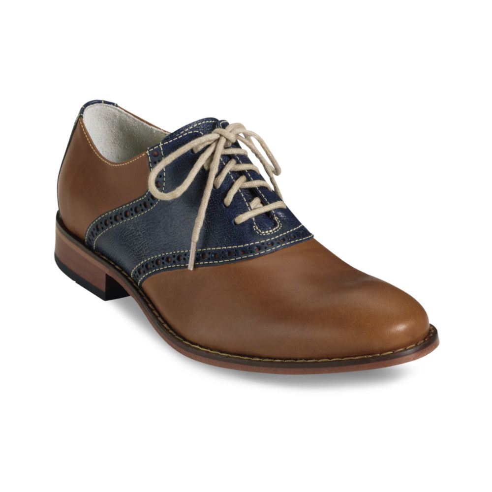 Cole Haan Colton Saddle Oxfords with Nike Air Cushion in ...