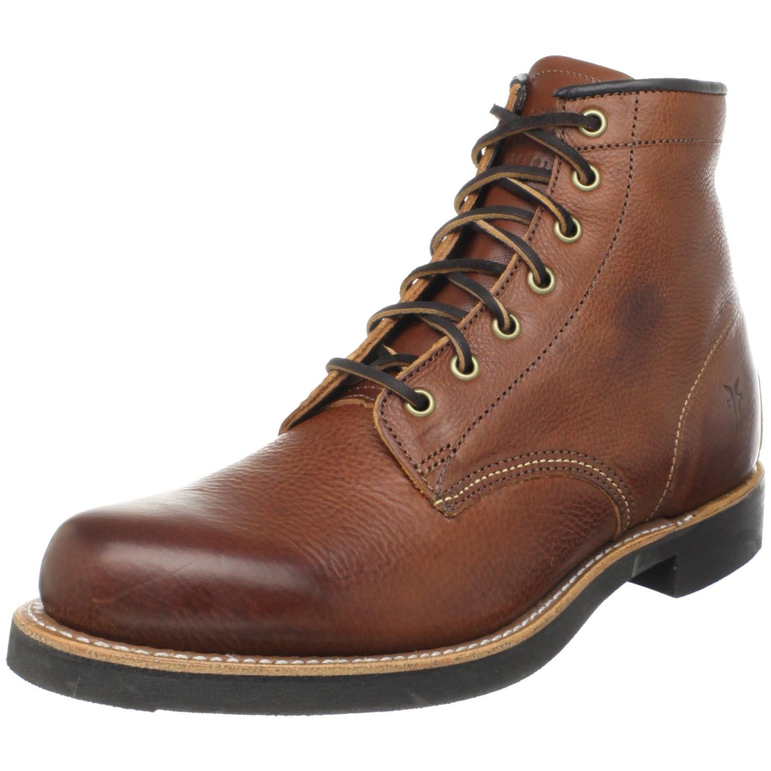 frye frye mens arkansas mid lace boot in brown for